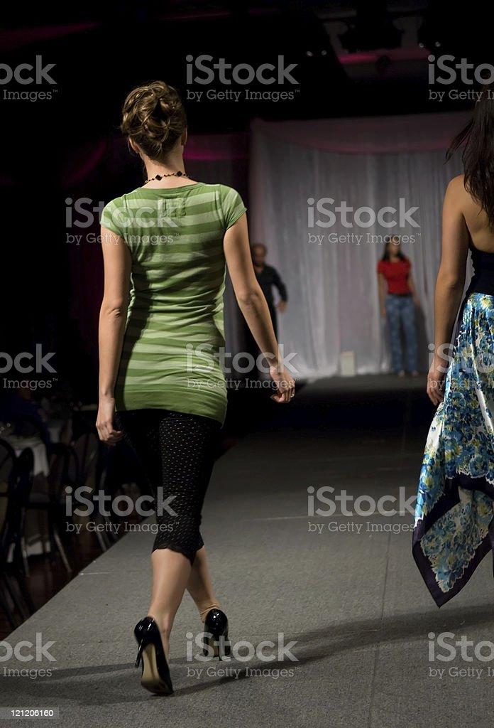 Fashion model school royalty-free stock photo