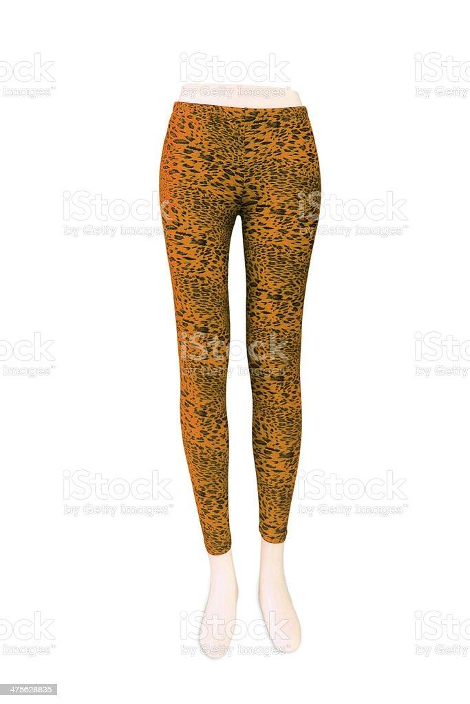 Fashion Pants on Dummy stock photo