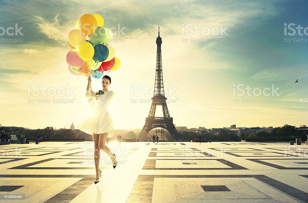 Fashion Paris royalty-free stock photo