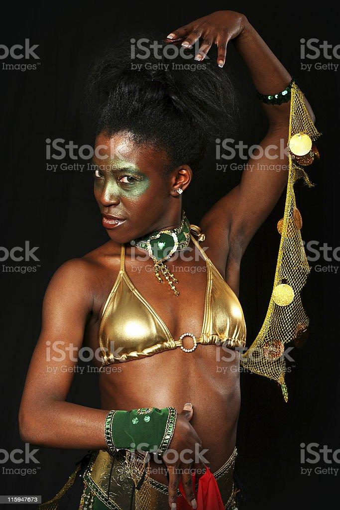 Fashion Performer stock photo
