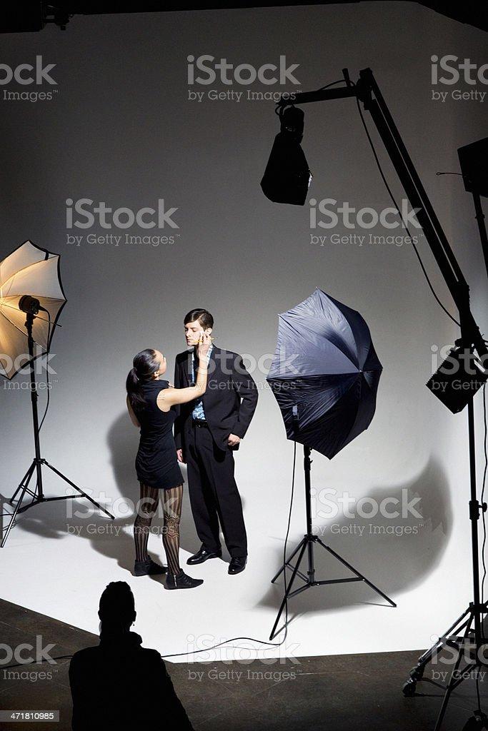 Fashion Photo Shoot royalty-free stock photo
