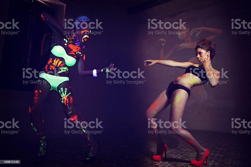 UV Fashion royalty-free stock photo