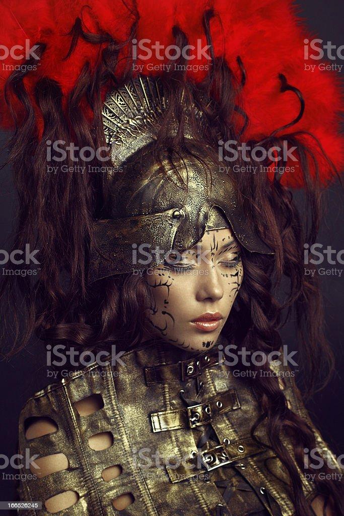 Fashion portrait of asian girl royalty-free stock photo