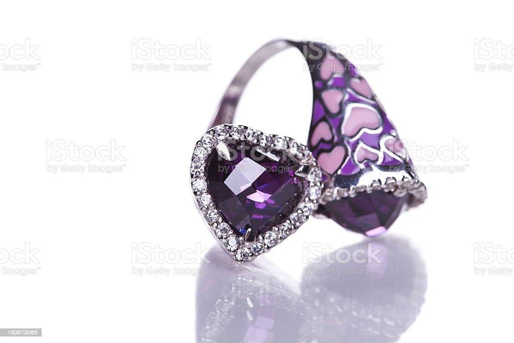 Fashion ring royalty-free stock photo