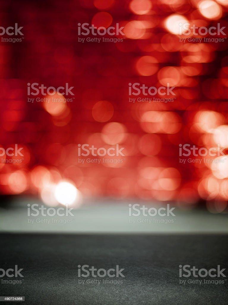 Fashion runway background stock photo