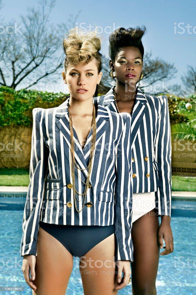 Fashion Sailor portrait stock photo