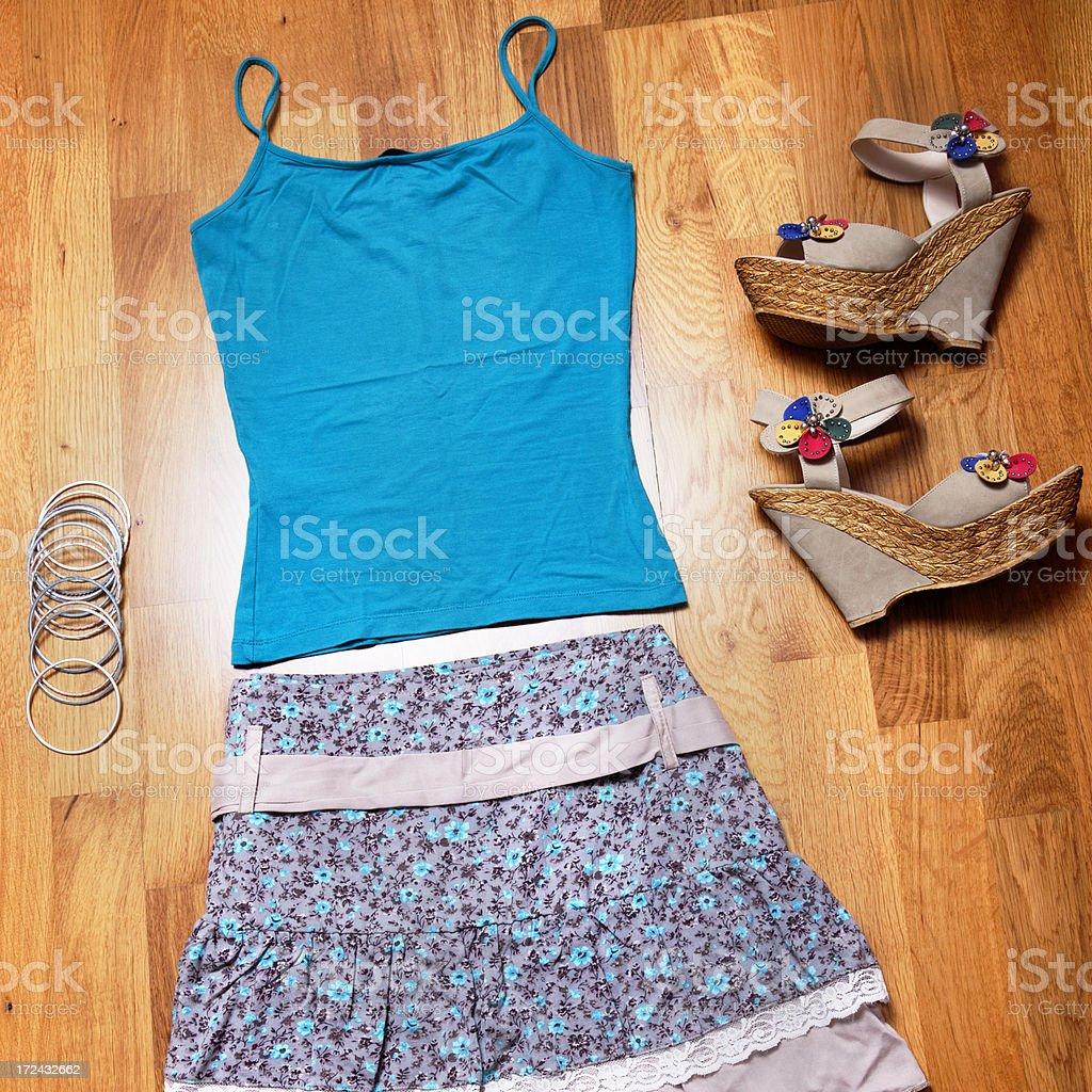 Fashion set royalty-free stock photo