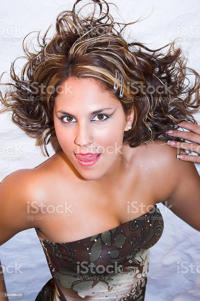 'Fashion', Sexy looking girl royalty-free stock photo