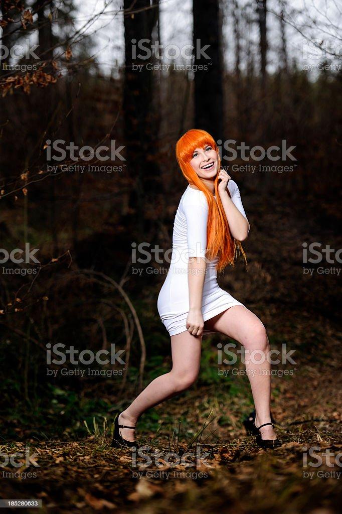 fashion shoot stock photo