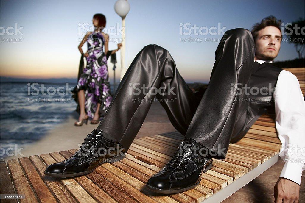 fashion shooting royalty-free stock photo