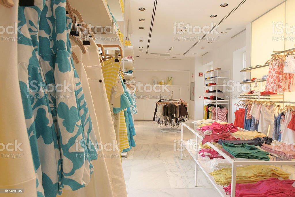 fashion shopping store royalty-free stock photo