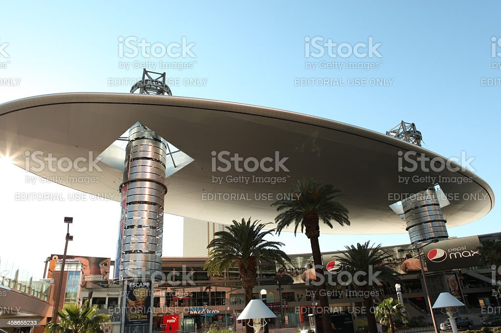 Fashion Show Mall at Las Vegas stock photo