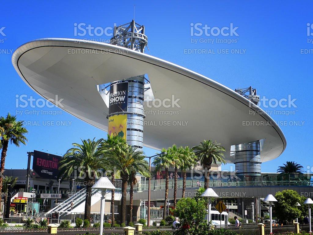 Fashion Show Mall in Las Vegas royalty-free stock photo