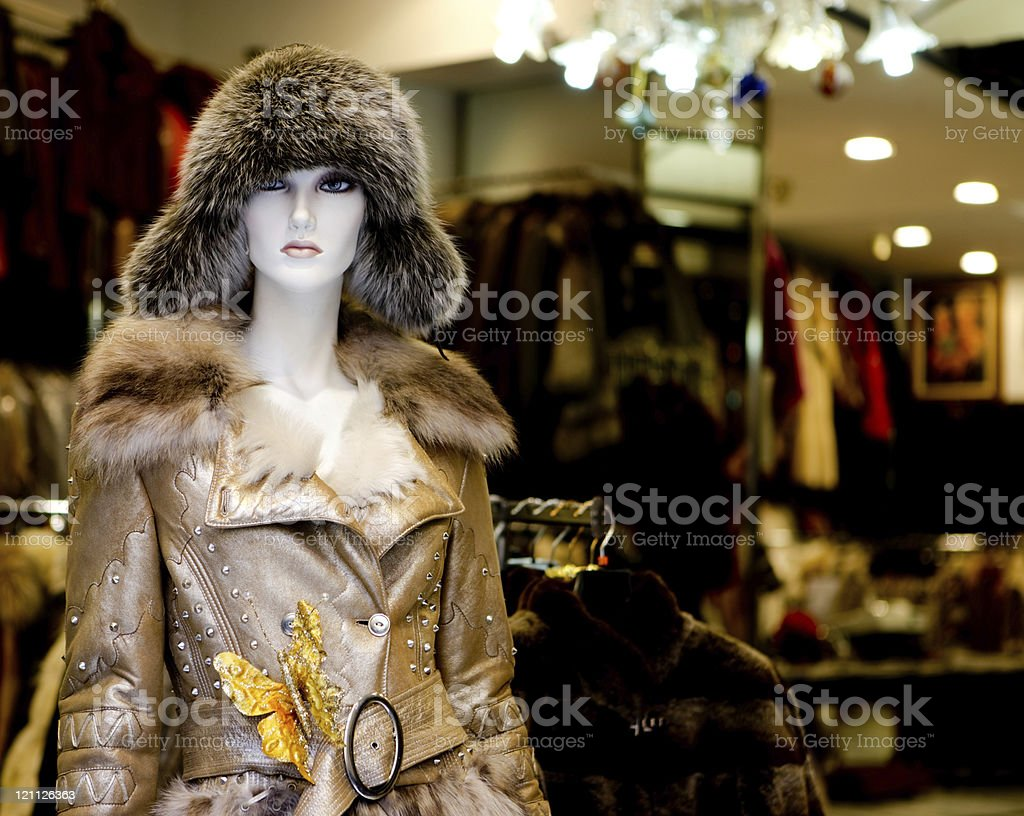 Fashion  store royalty-free stock photo