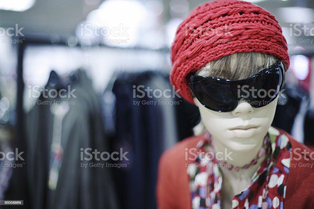 Fashion  store royalty-free stock photo