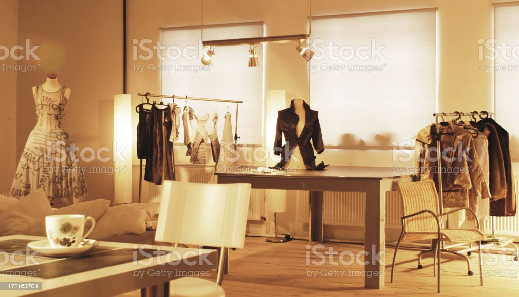 fashion studio royalty-free stock photo