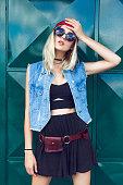 Fashion stylish girl