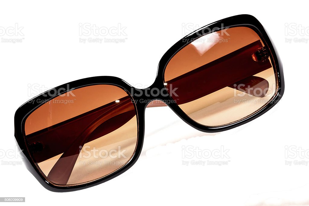 Fashion sunglasses with clipping path stock photo