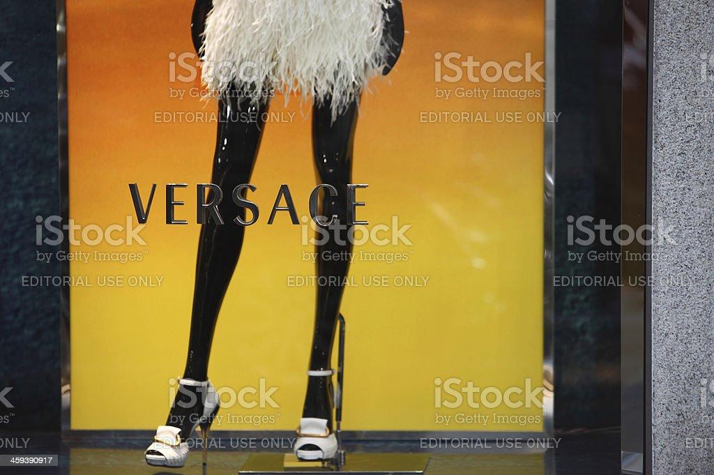 Fashion Window Display stock photo