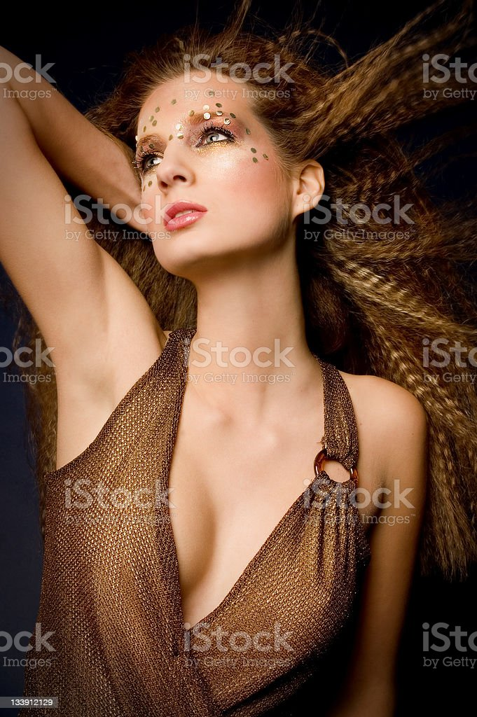 Fashion With Glitters - 3 royalty-free stock photo