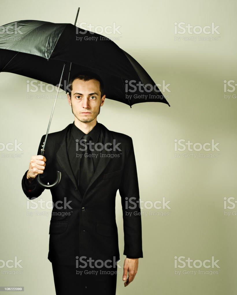 Fashion with umbrella stock photo