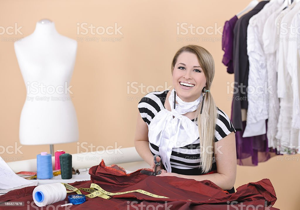 fashion woman designer royalty-free stock photo