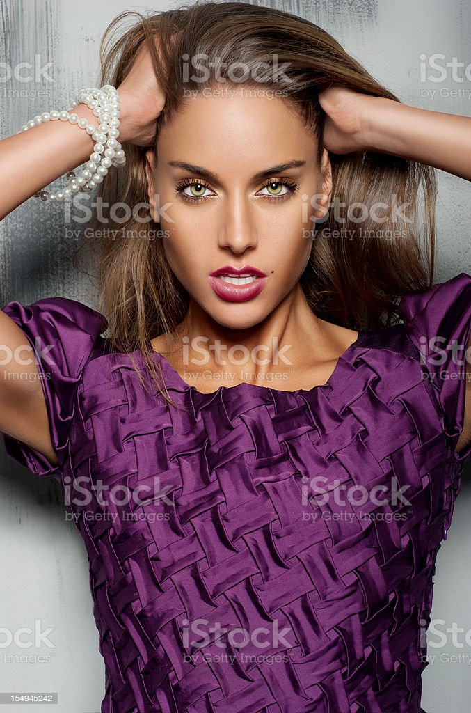 Fashion woman royalty-free stock photo