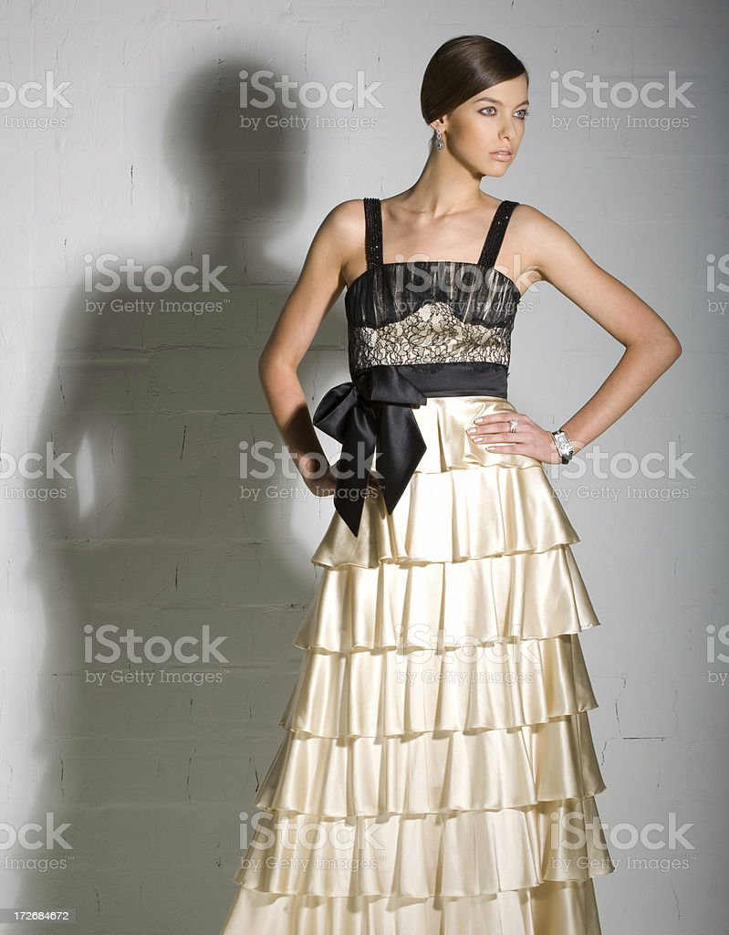 Fashion woman royalty-free stock photo