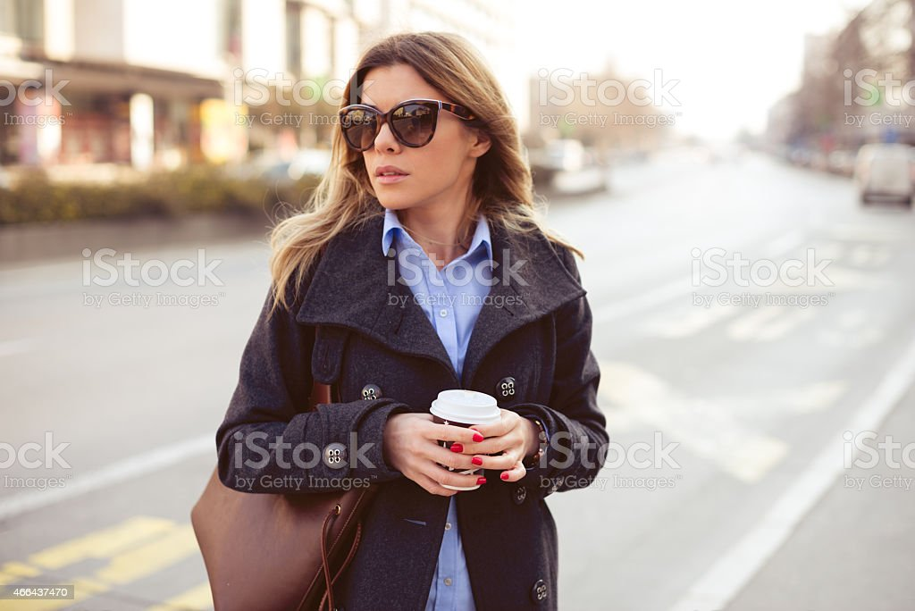 Fashion woman stock photo