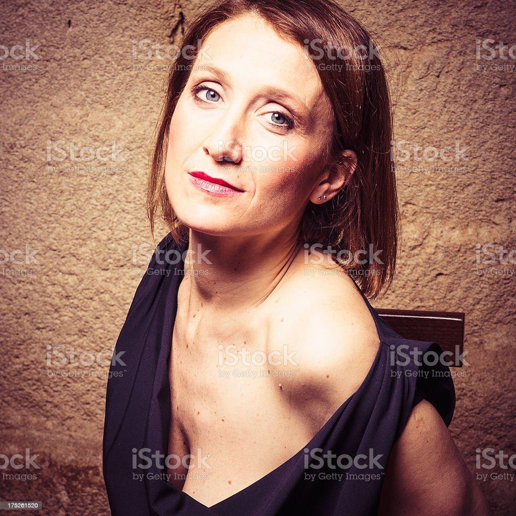 Fashion woman portrait royalty-free stock photo