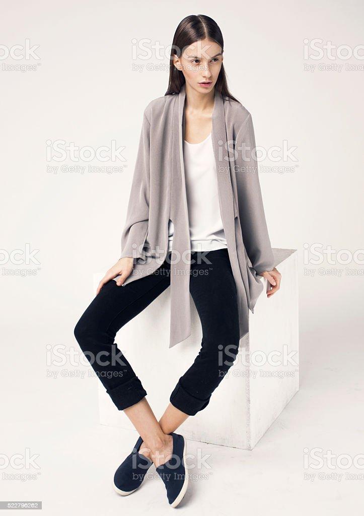 Fashion women stock photo