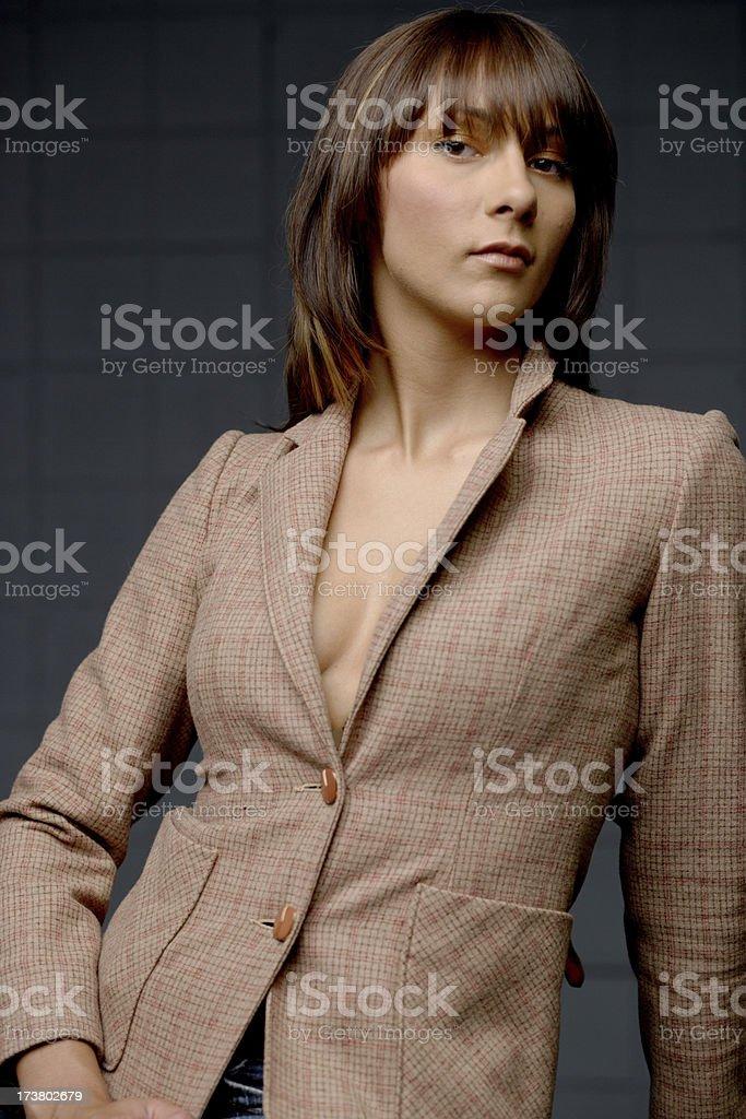 Fashionable Businesswoman stock photo
