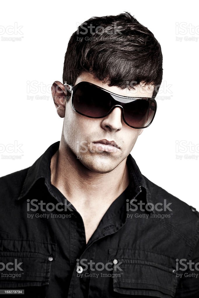 Fashionable man royalty-free stock photo
