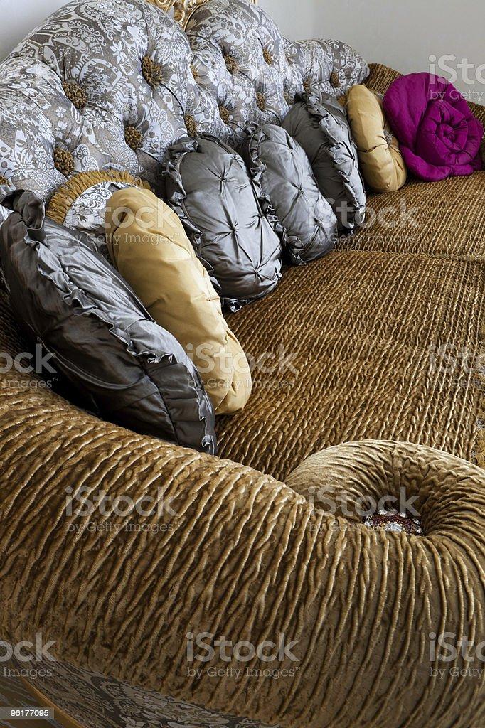 fashionable sofa royalty-free stock photo