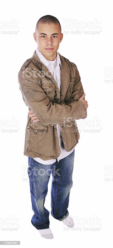 Fashionable Teen royalty-free stock photo