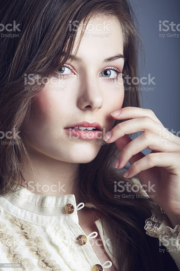 Fashionably beautiful stock photo