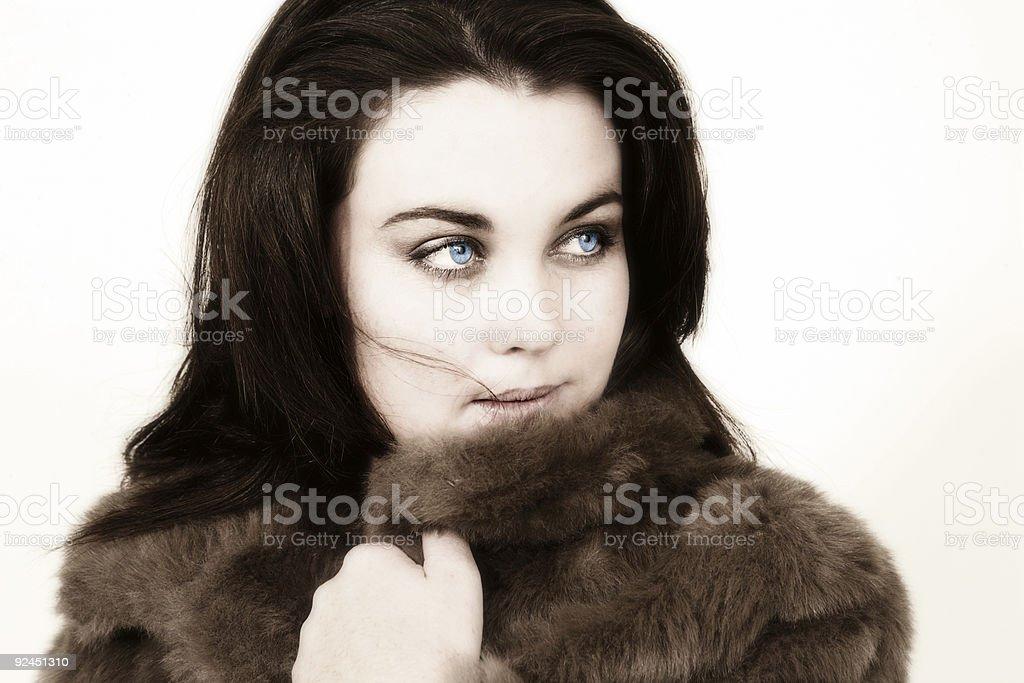 Fashionably Warm stock photo