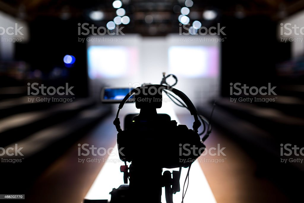 FashionShowStage stock photo