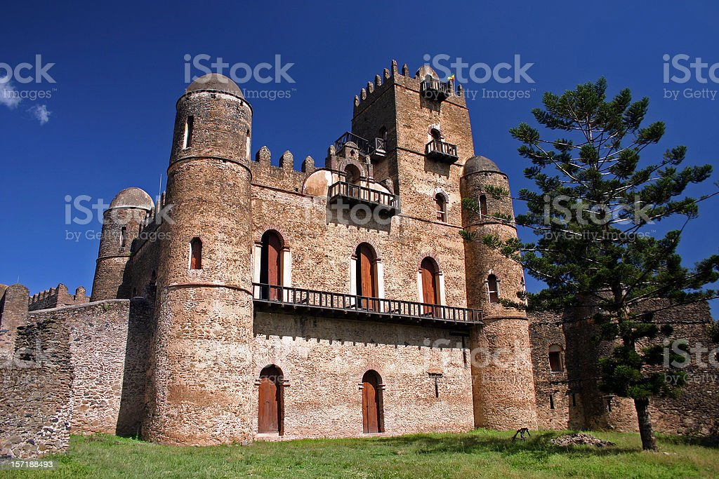 Fasiladas Palace royalty-free stock photo