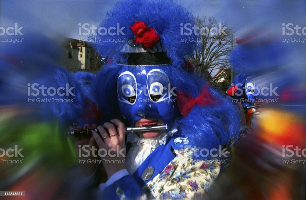 fasnacht in basel royalty-free stock photo
