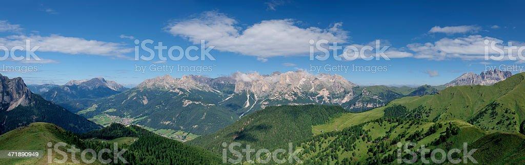 Val di Fassa stock photo