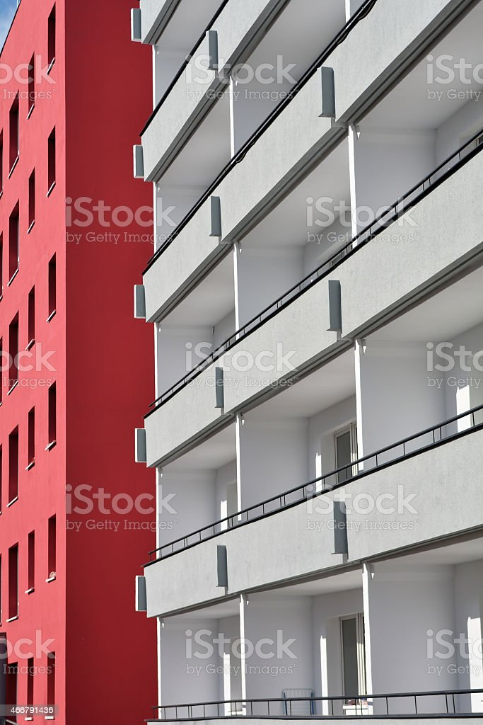 Fassade stock photo
