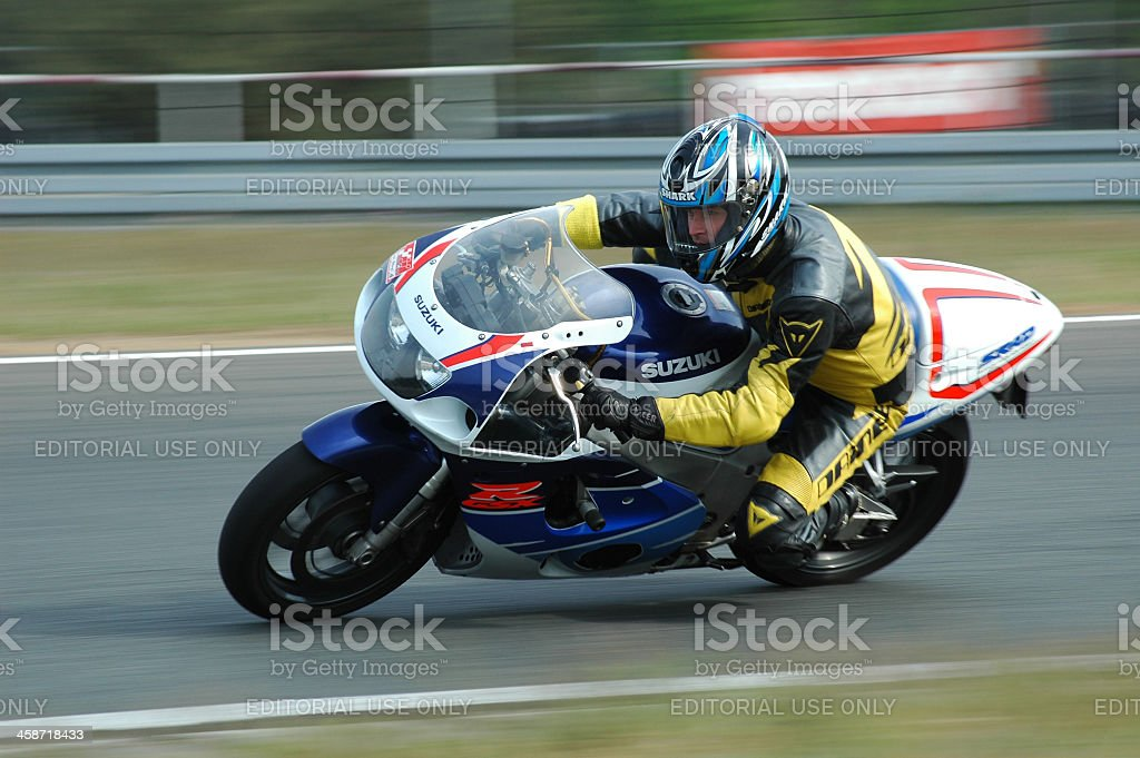Fast bike royalty-free stock photo