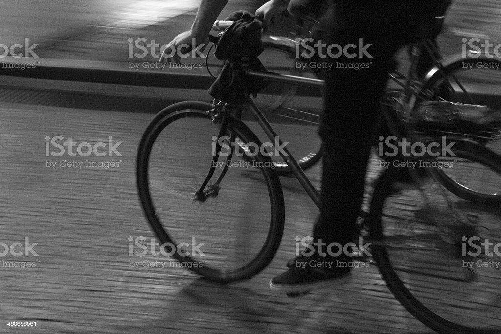 Rápido de bicicleta foto de stock libre de derechos