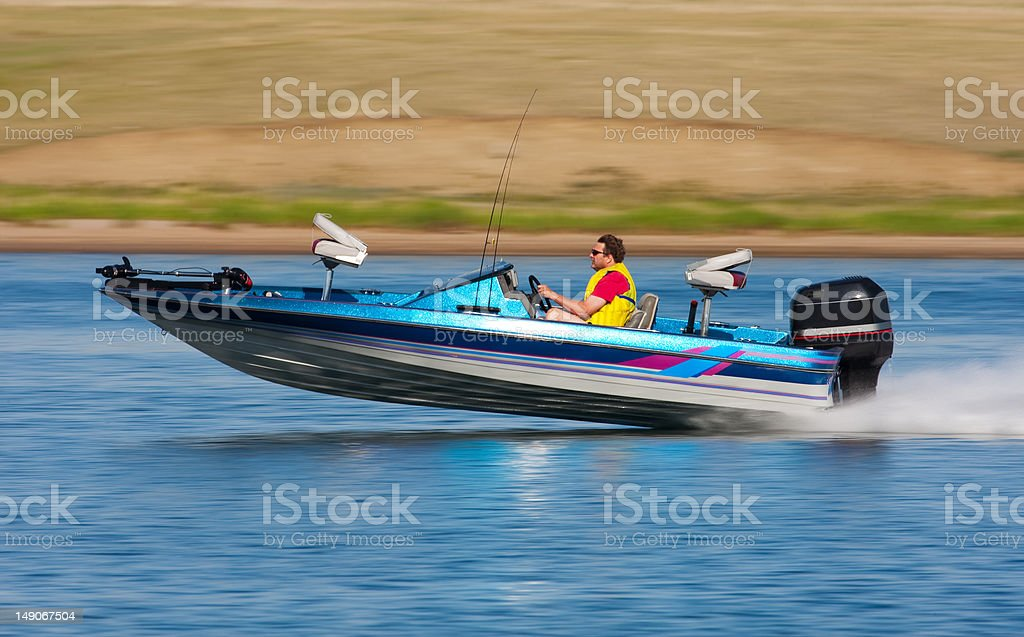 Fast Boat stock photo