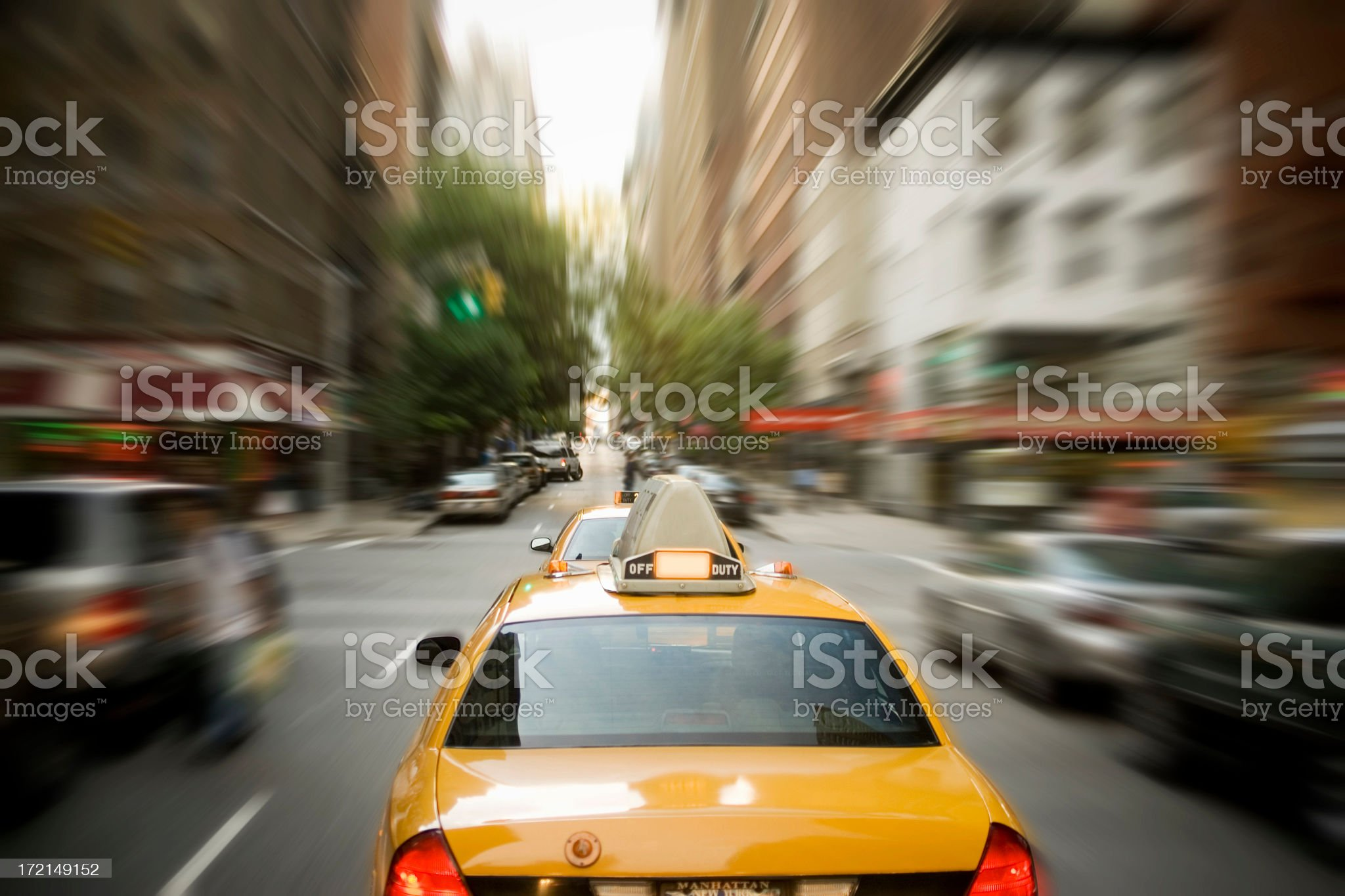 Fast Cab royalty-free stock photo