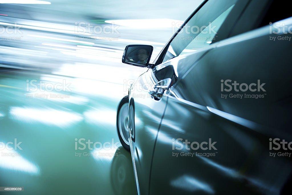 fast car stock photo
