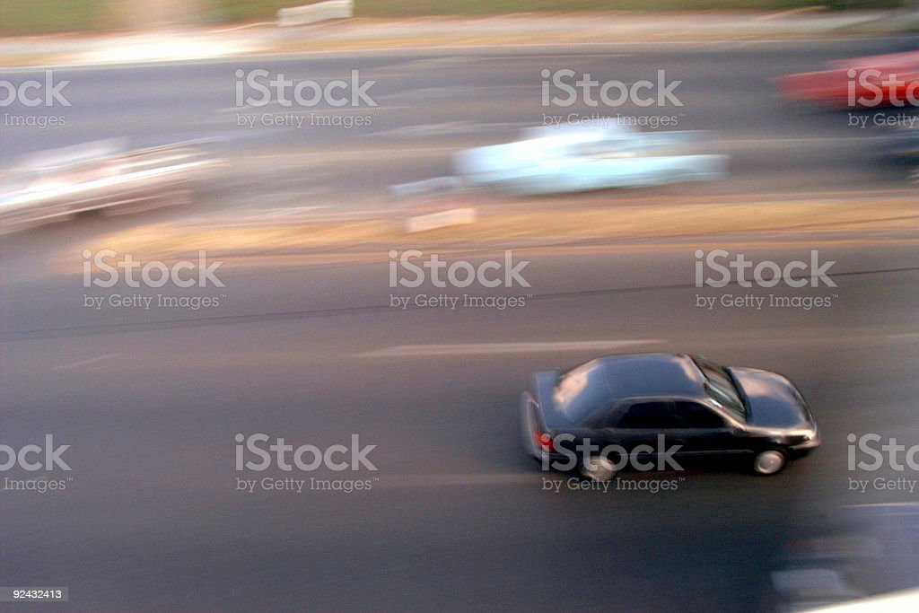 Fast car royalty-free stock photo