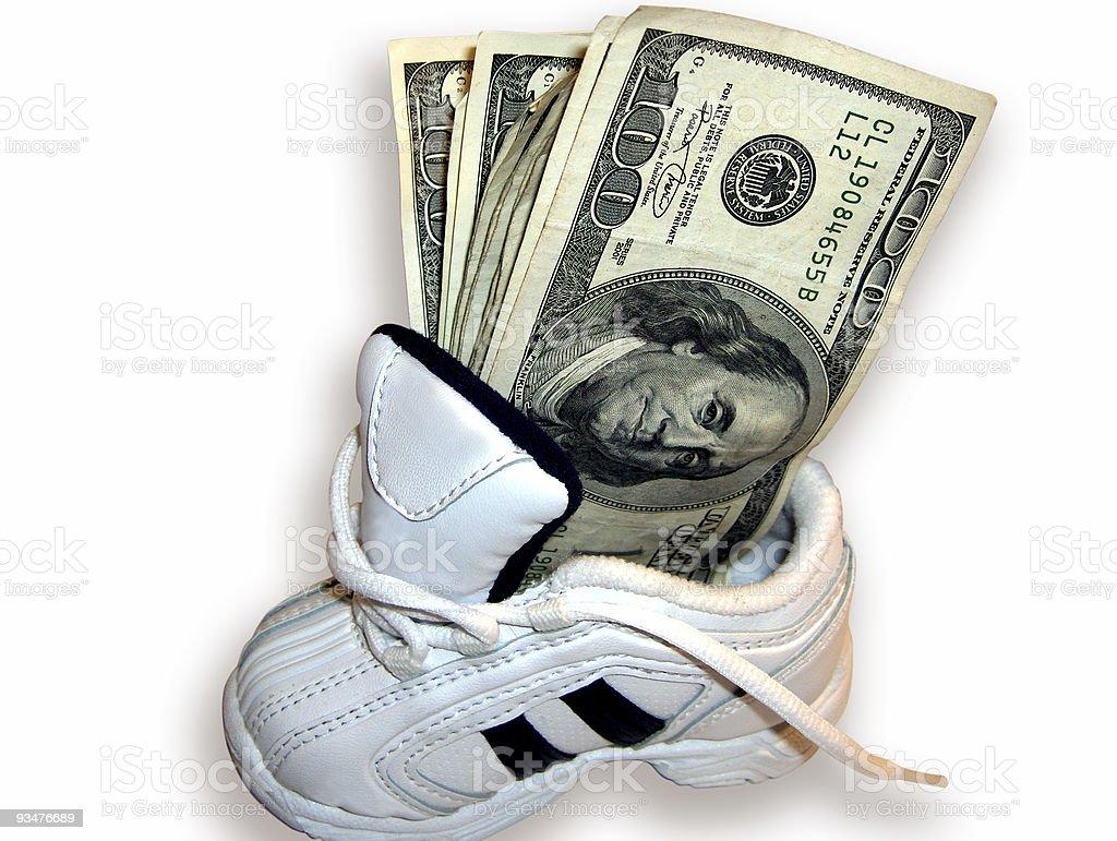 Fast Cash #1 (w/path) stock photo