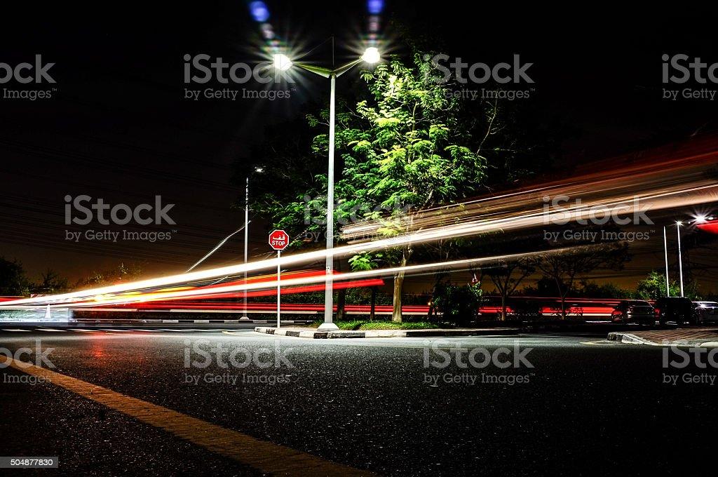 Fast City Life stock photo